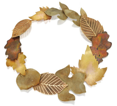 foliage necklace sothebys