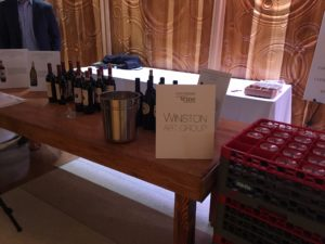Winston Art Group booth at Uncorked